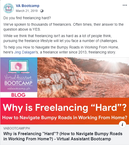 Why is freelancing hard