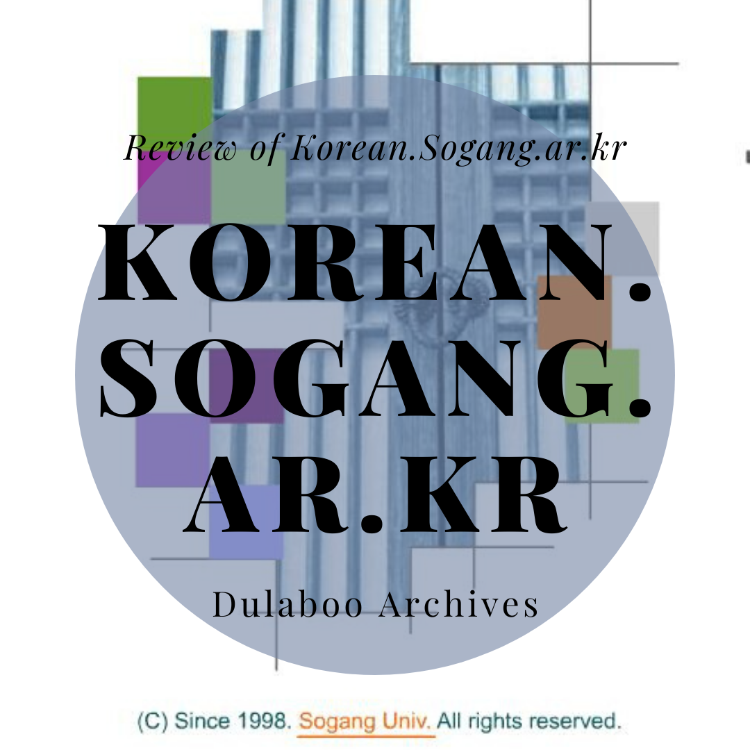 Korean Sogang: Review of Korean Sogang