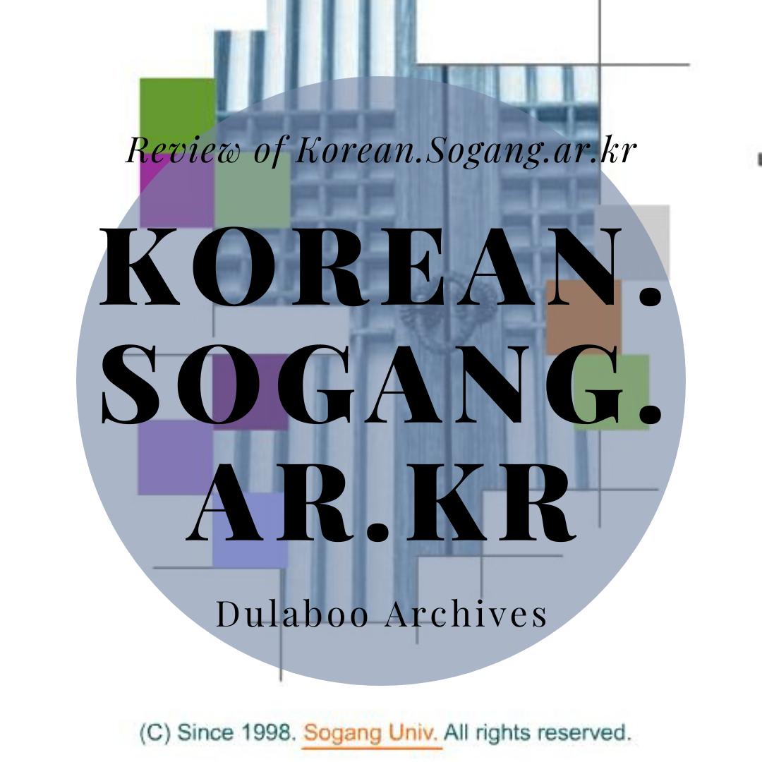 Korean Sogang: Review of Korean Sogang