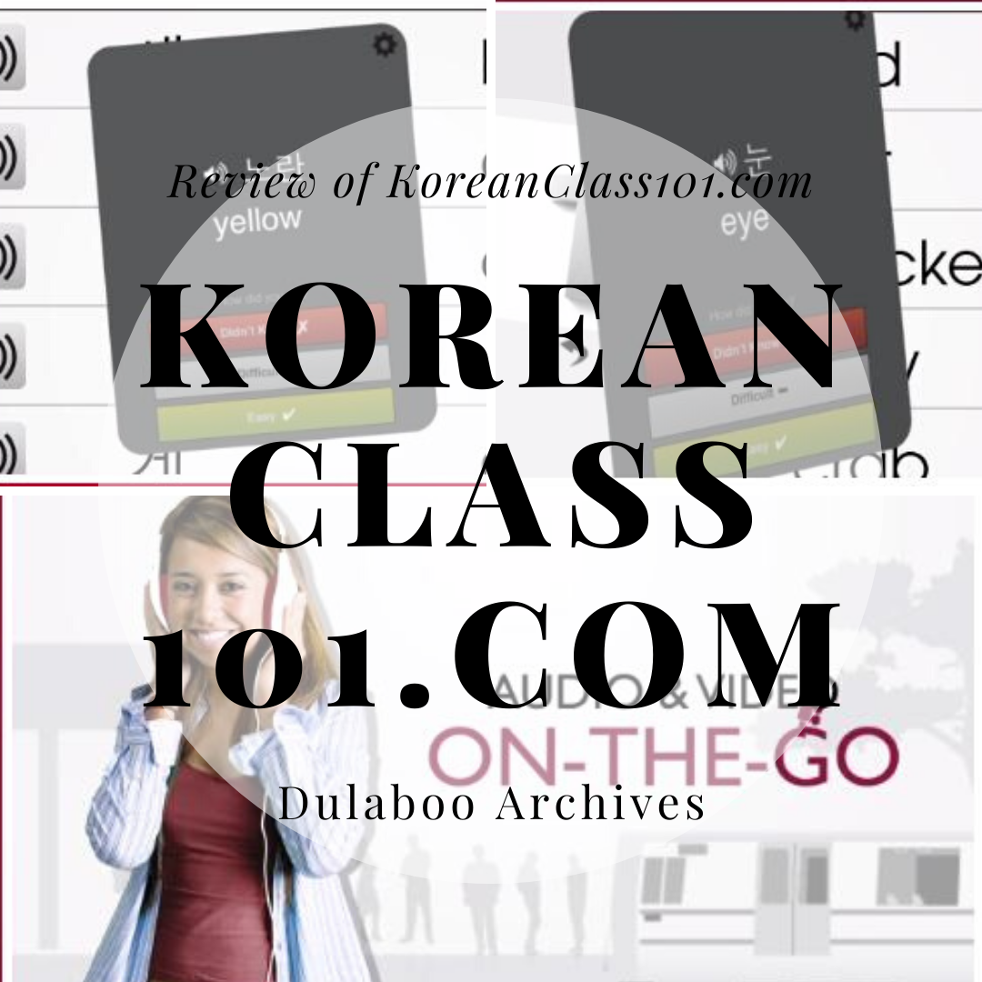 KoreanClass101.com: Review of KoreanClass101.com