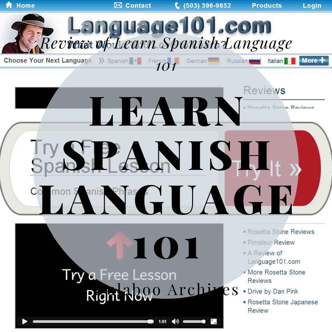 Learn Spanish Language 101: Review of Learn Spanish Language 101