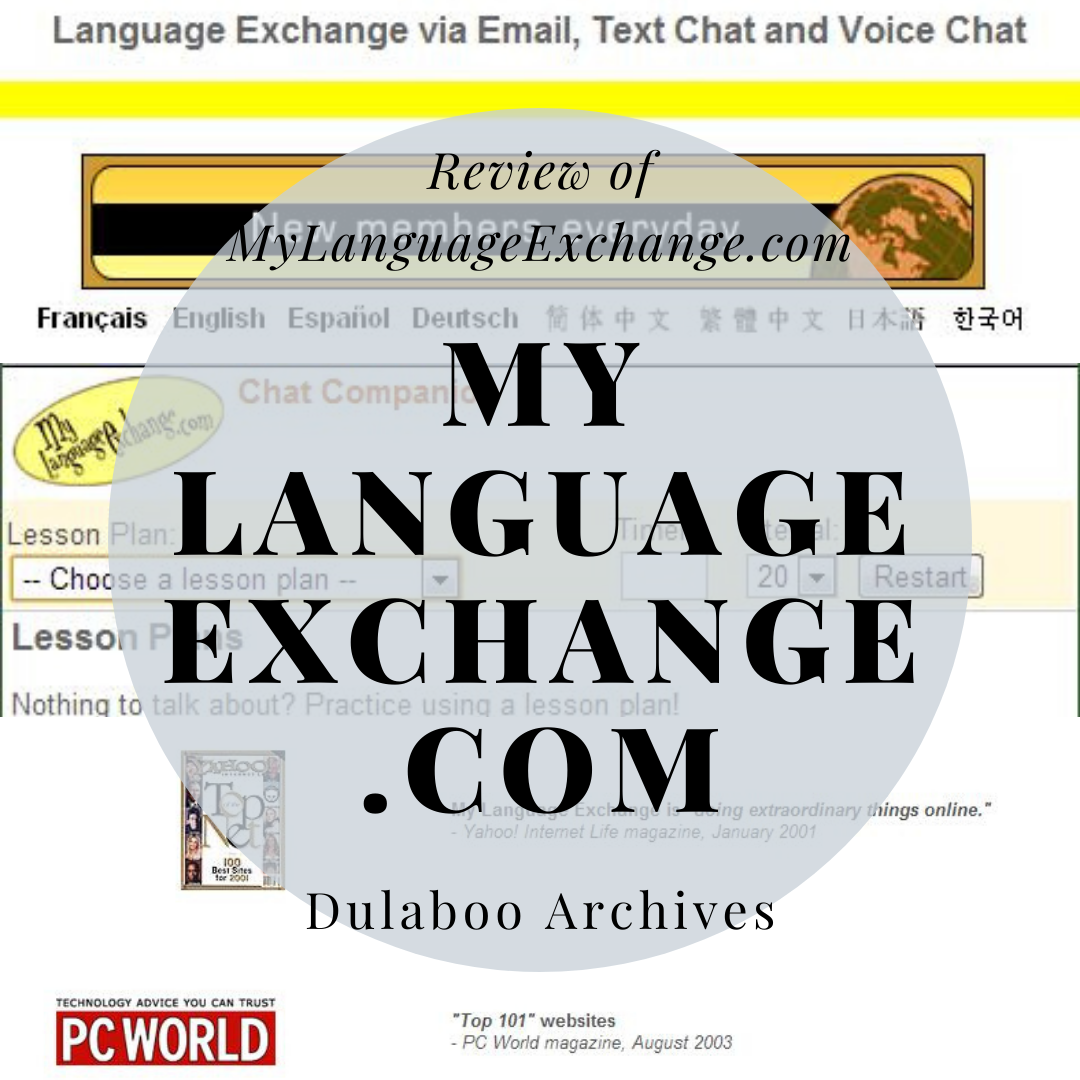 MyLanguageExchange.com: Review of MyLanguageExchange.com