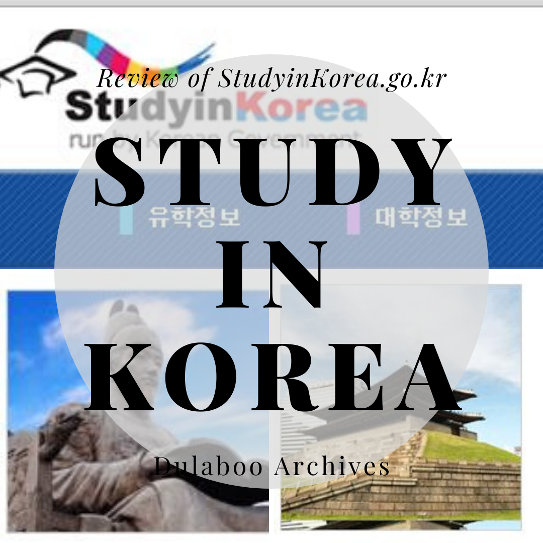 Study in Korea: Review of StudyInKorea.go.kr