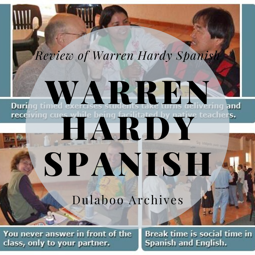 Warren Hardy Spanish: Review of Warren Hardy Spanish