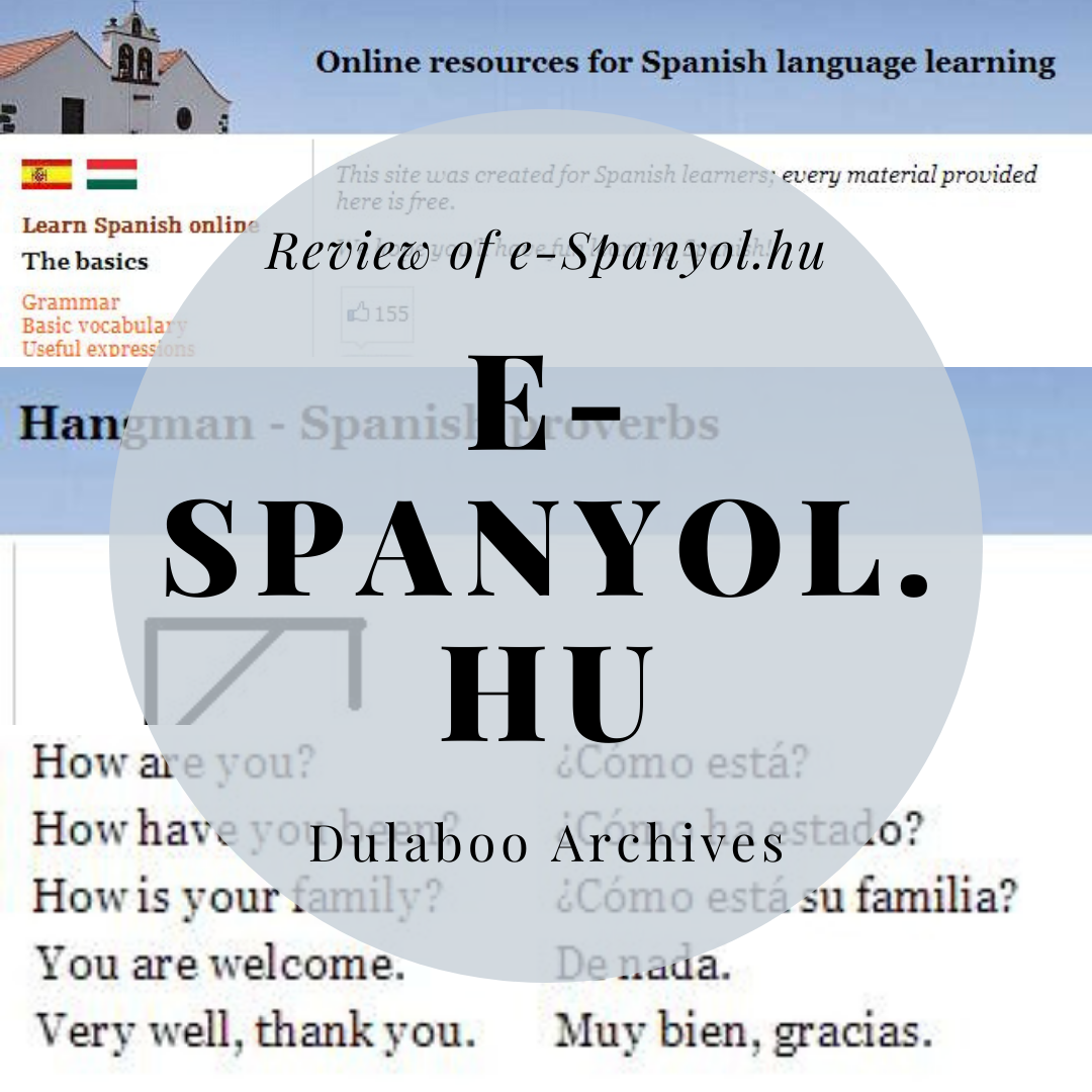 e-Spanyol.hu: Review of e-Spanyol.hu